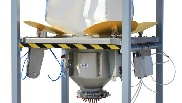 big-bag discharge systems