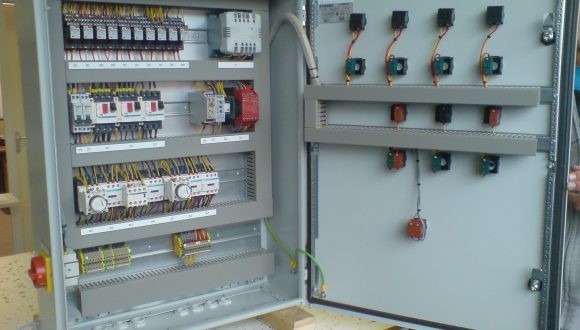 operating system for industrial mixer