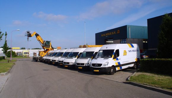 Industrial Mixers Service Fleet Vehicles