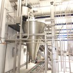 Steel structures for solids mixers