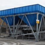 Storage bunker dry bulk