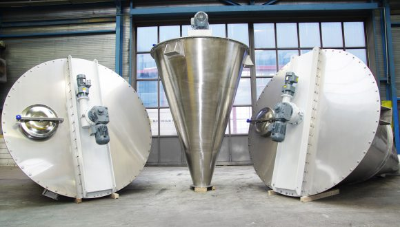 Mixers for industrial applications