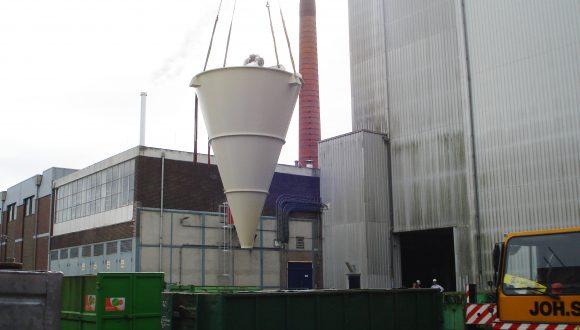 V mixer - conical mixer