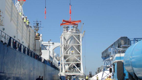 silo for minerals