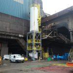 Silo mixer - mixing silo