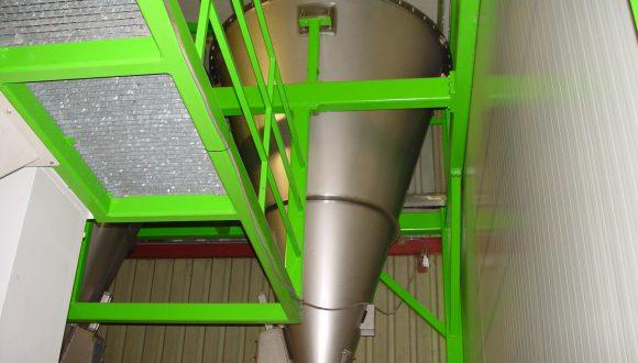 conical mixer bulk materials