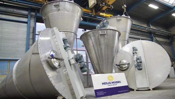 industrial mixers for food, feed, frains, powders