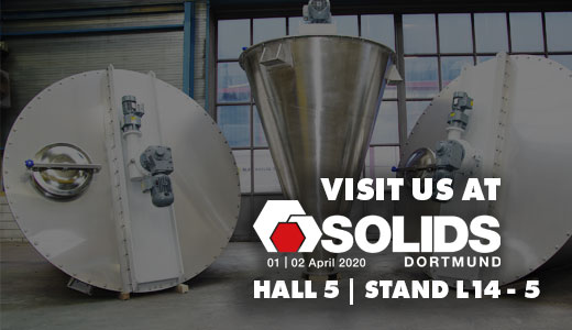 Come and visit us at Solids Dortmund 2020