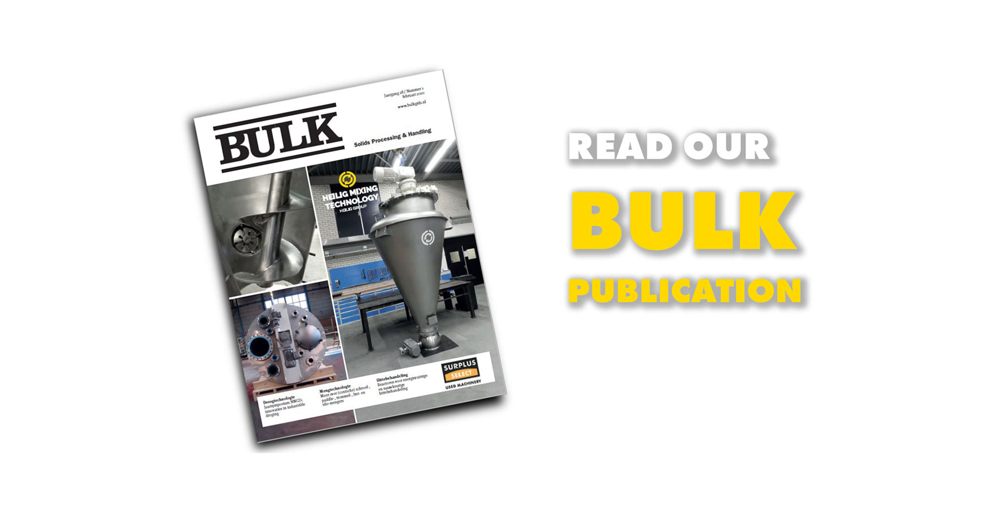 Heilig Mixing Technology publicatie Bulk