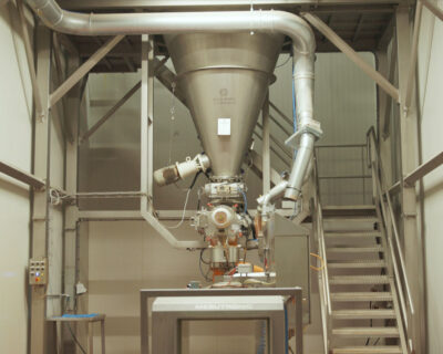A new conical mixer for extra capacity